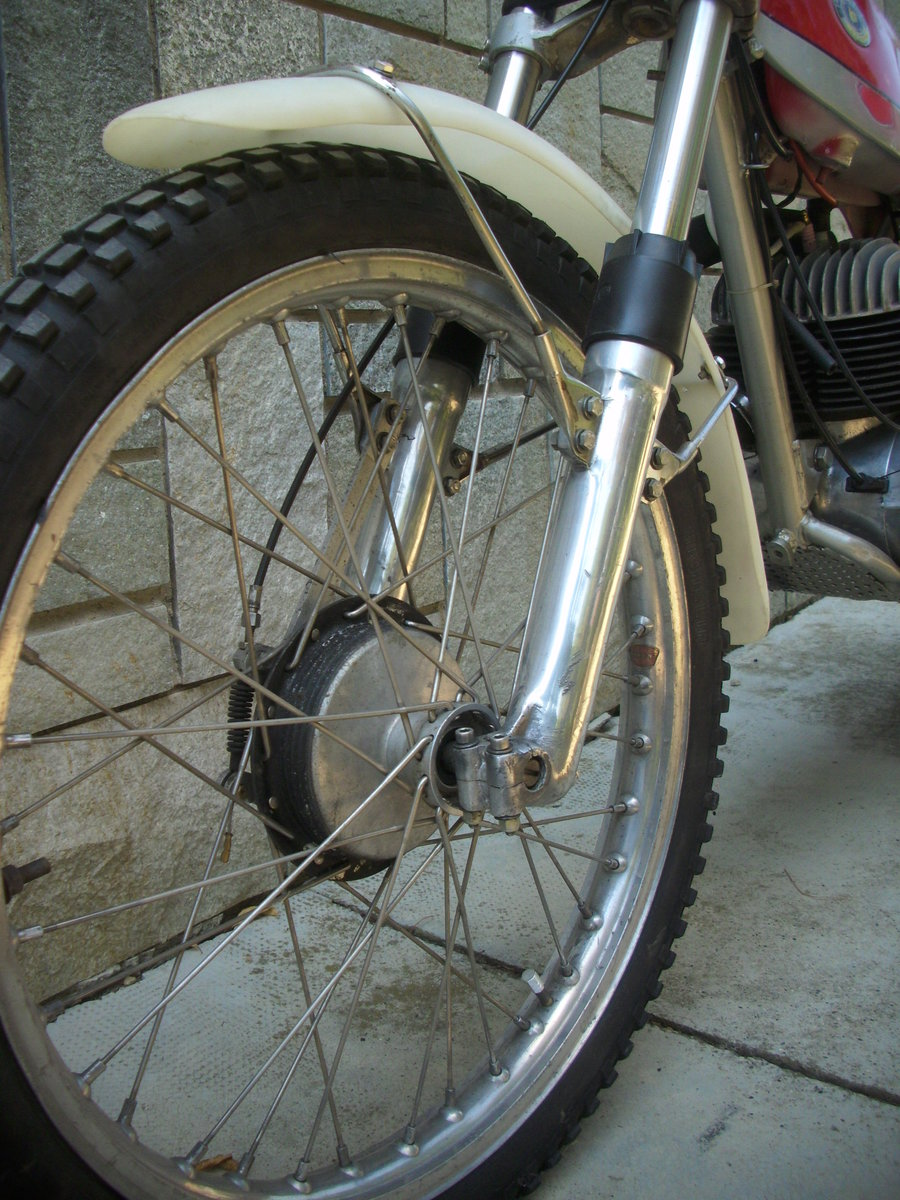 1974 BULTACO Sherpa T250 motorcycle trial era For Sale (picture 4 of 6)