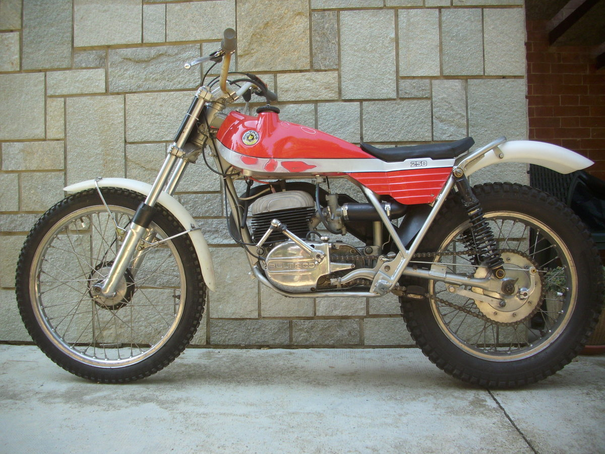 1974 BULTACO Sherpa T250 motorcycle trial era For Sale (picture 6 of 6)
