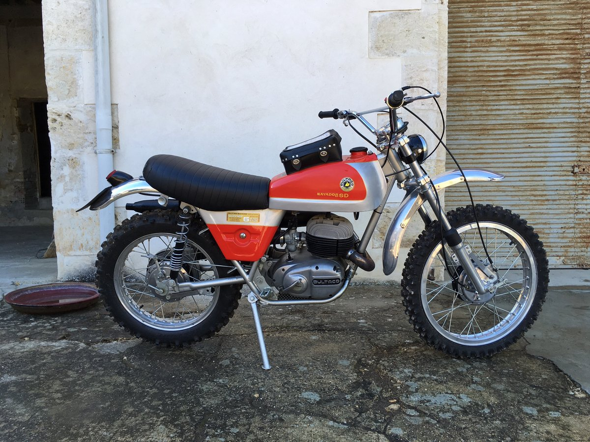 1970 Bultaco matador mk4 six days For Sale (picture 1 of 5)