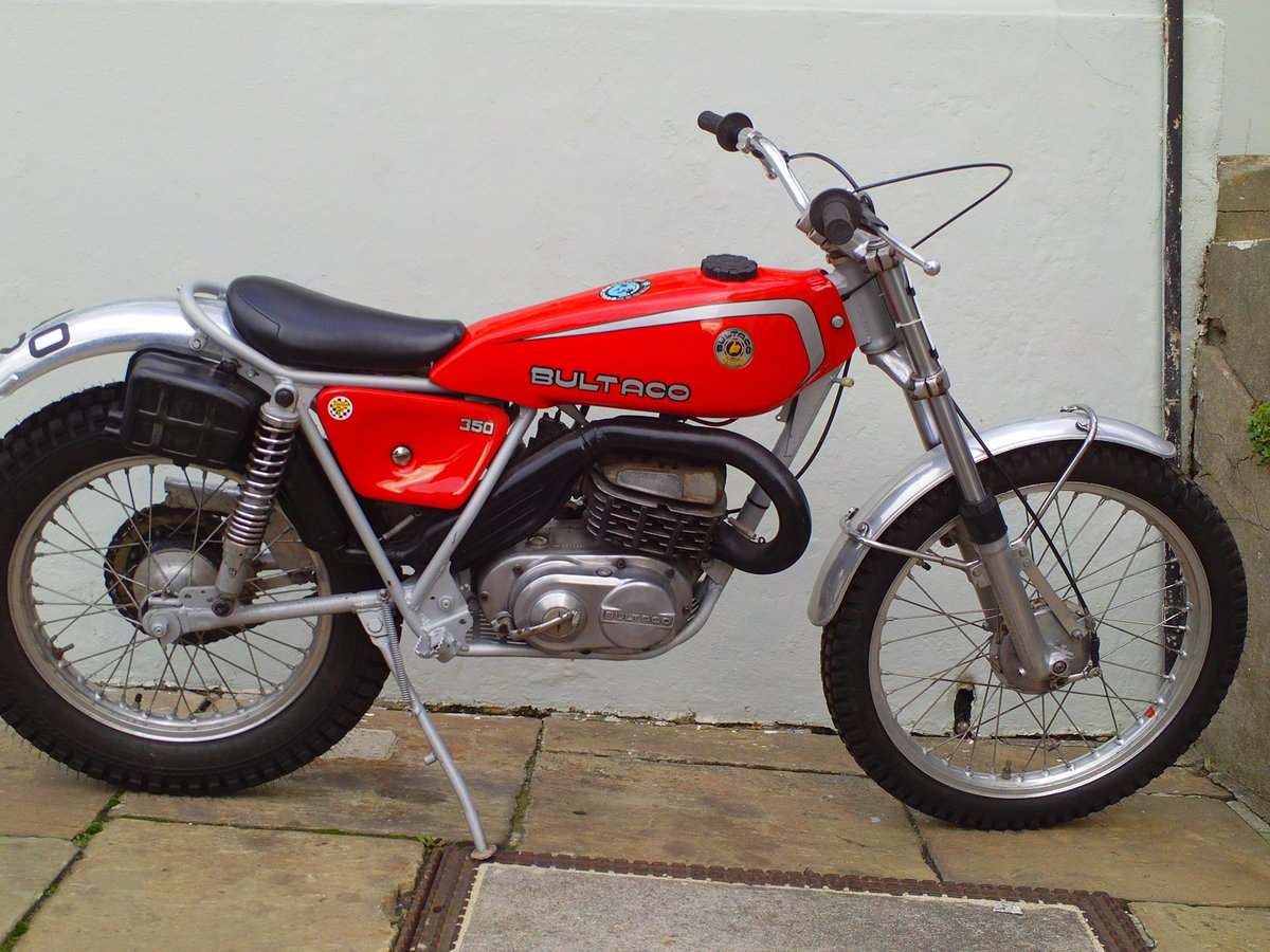 1976 BULTACO SHERPA 350 SOLD (picture 1 of 6)