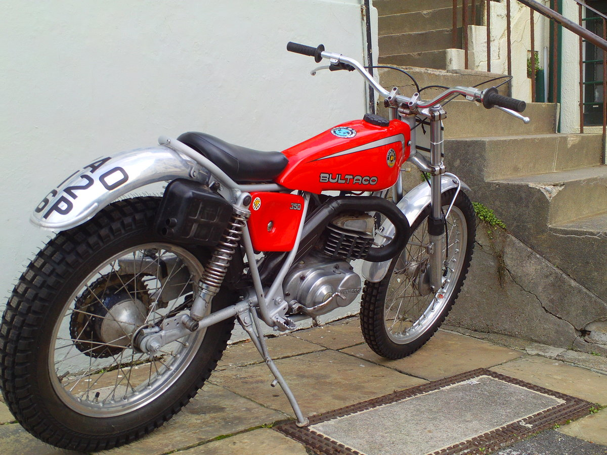 1976 BULTACO SHERPA 350 SOLD (picture 2 of 6)