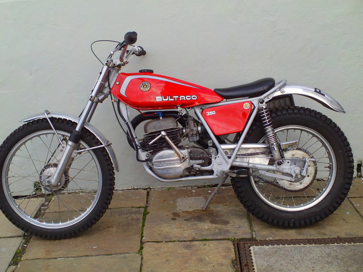 1976 BULTACO SHERPA 350 SOLD (picture 3 of 6)