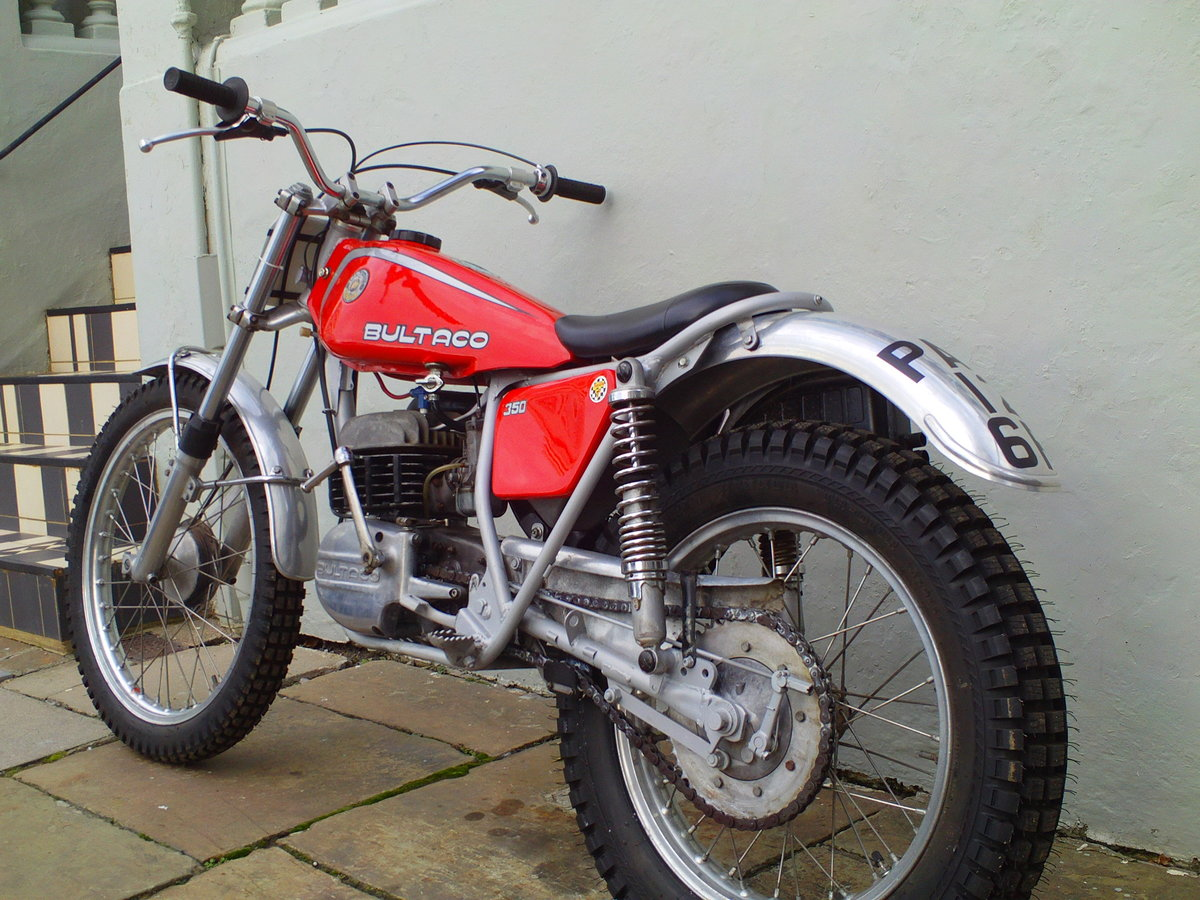 1976 BULTACO SHERPA 350 SOLD (picture 4 of 6)