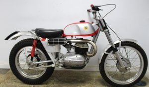 1965 Bultaco Model 10 Radial Head Rare Trials Bike