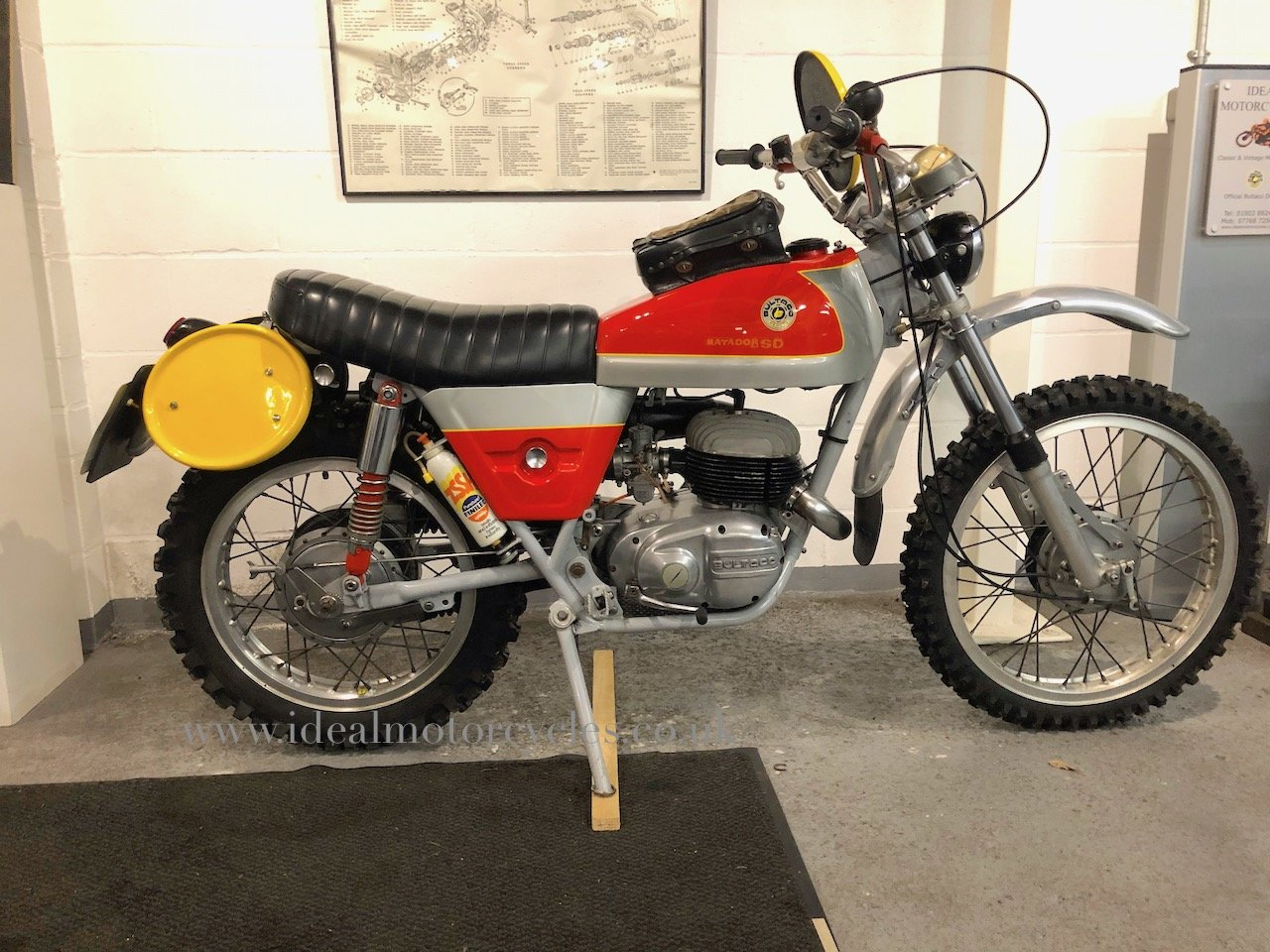 1973 Bultaco Matador Mk4 250cc Enduro Motorcycle For Sale (picture 1 of 6)