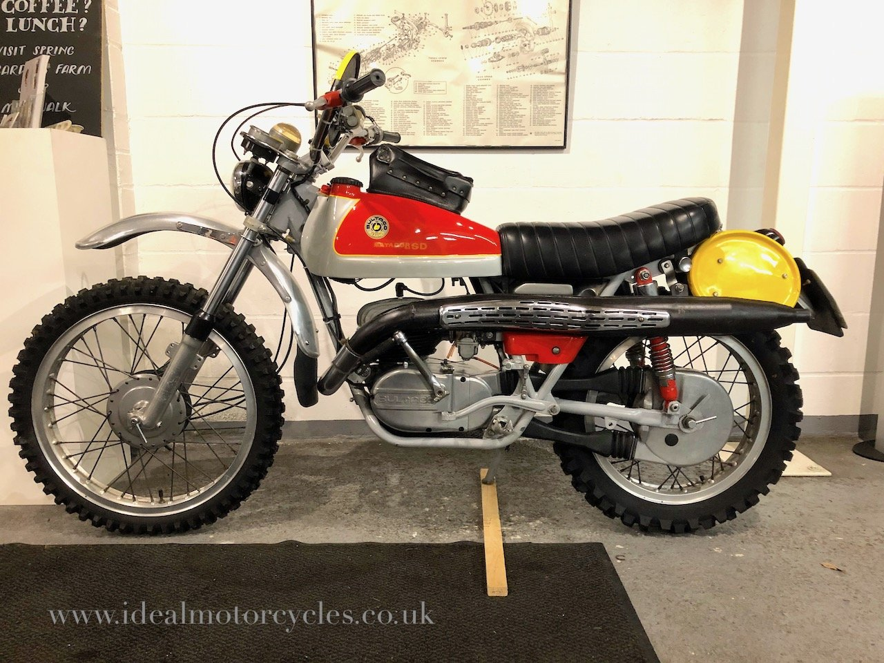 1973 Bultaco Matador Mk4 250cc Enduro Motorcycle For Sale (picture 3 of 6)