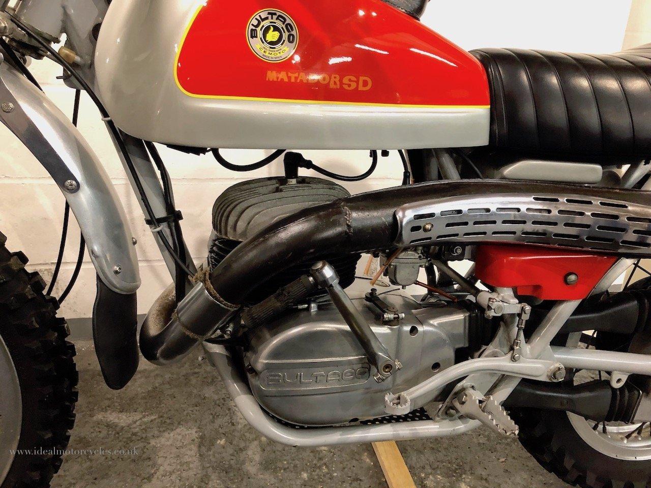1973 Bultaco Matador Mk4 250cc Enduro Motorcycle For Sale (picture 6 of 6)