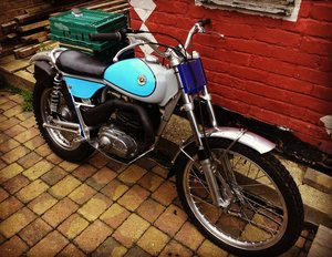 1972 Bultaco sherpa Sammy Miller frame For Sale