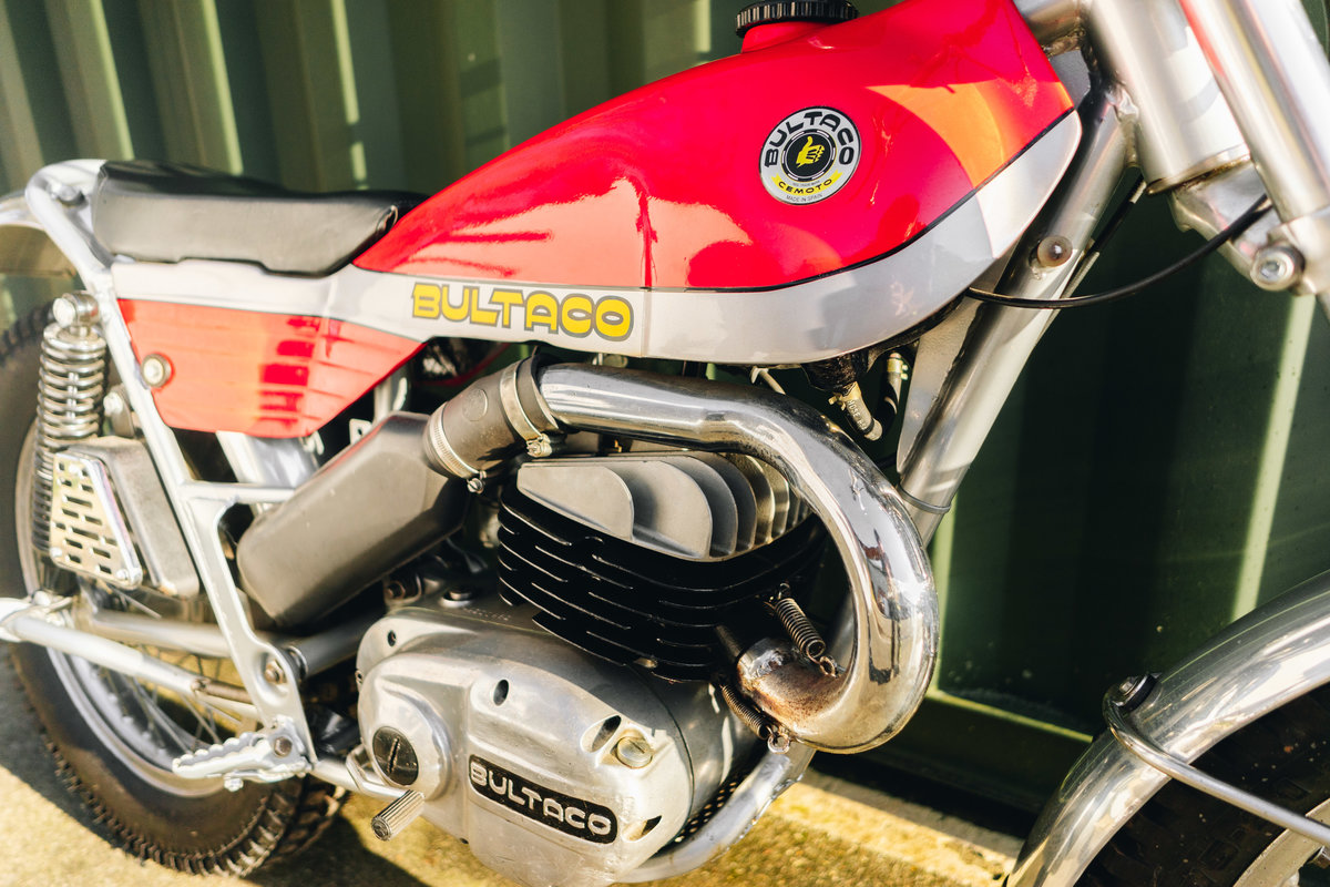 1973 BULTACO 325cc SOLD!! For Sale (picture 9 of 10)