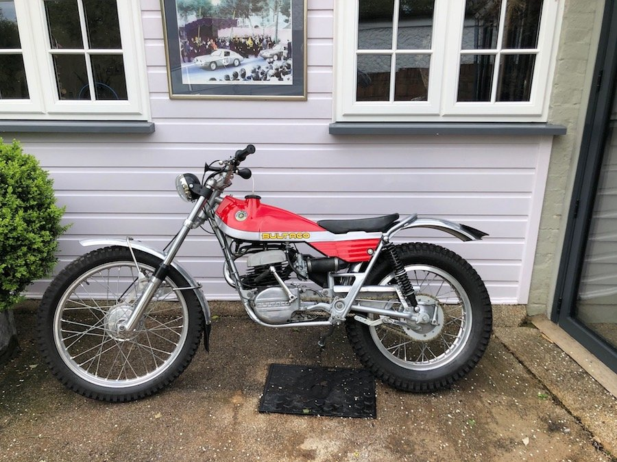 1973 Bultaco 325cc Sherpa Fully Restored For Sale (picture 1 of 5)