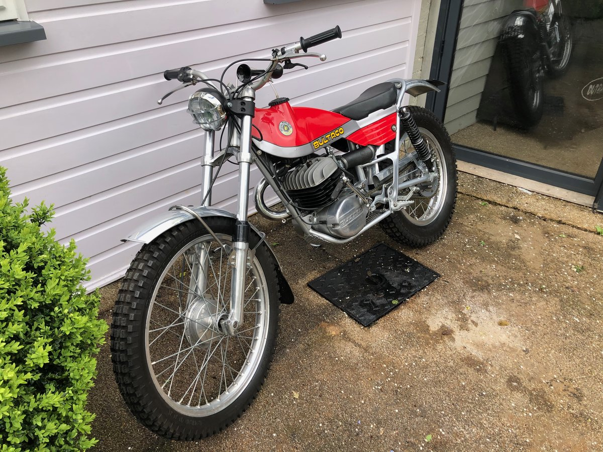 1973 Bultaco 325cc Sherpa Fully Restored For Sale (picture 2 of 5)