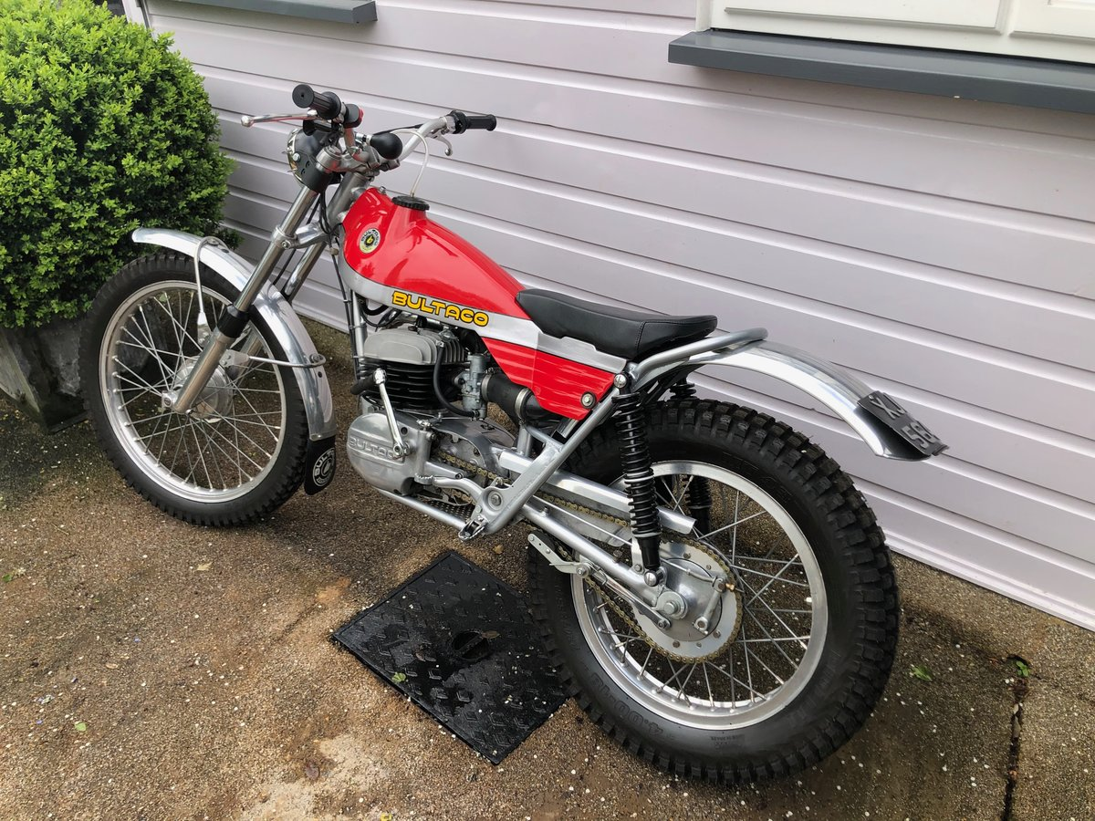 1973 Bultaco 325cc Sherpa Fully Restored For Sale (picture 3 of 5)
