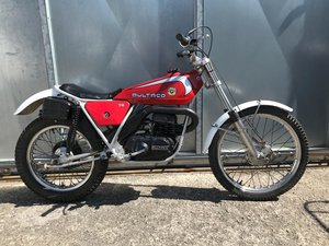 1980 BULTACO SHERPA 74 TWIN SHOCK TRIALS ACE BIKE £1795 ONO