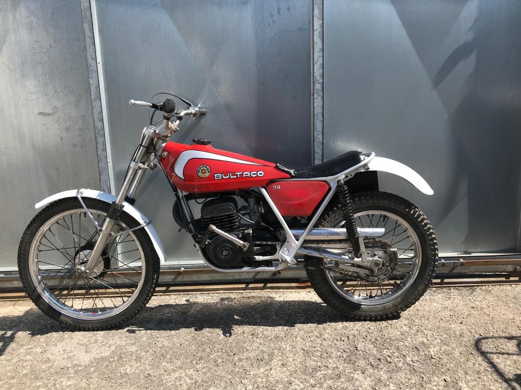 1980 BULTACO SHERPA 74 TWIN SHOCK TRIALS ACE BIKE £1795 ONO For Sale (picture 2 of 6)