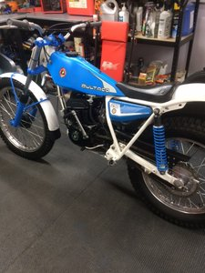 Bultaco Sherpa 198B Trials bike