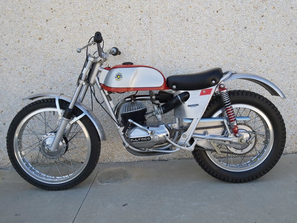 1965 Bultaco Sherpa Sammy Miller For Sale (picture 1 of 3)