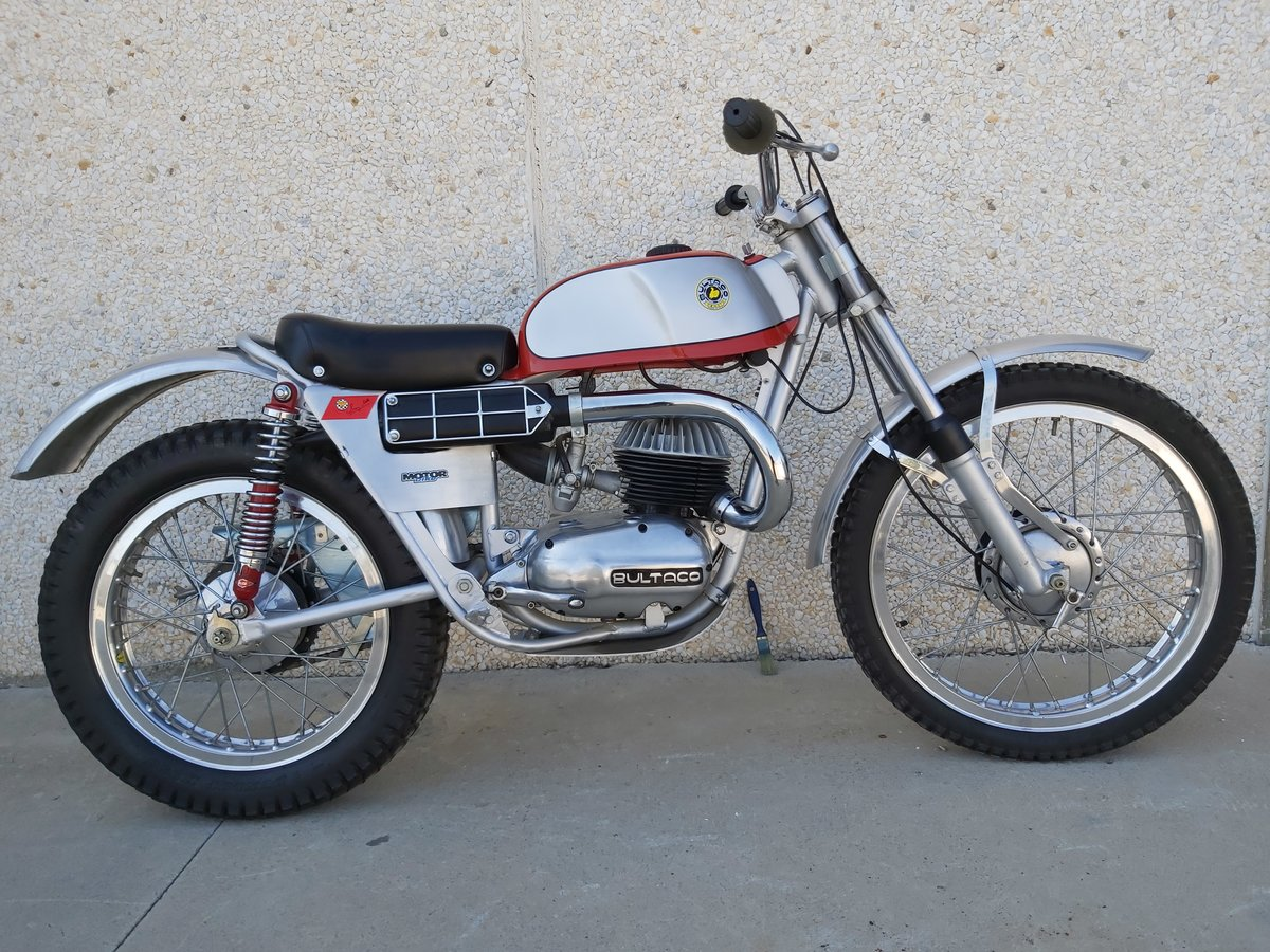 1965 Bultaco Sherpa Sammy Miller For Sale (picture 2 of 3)