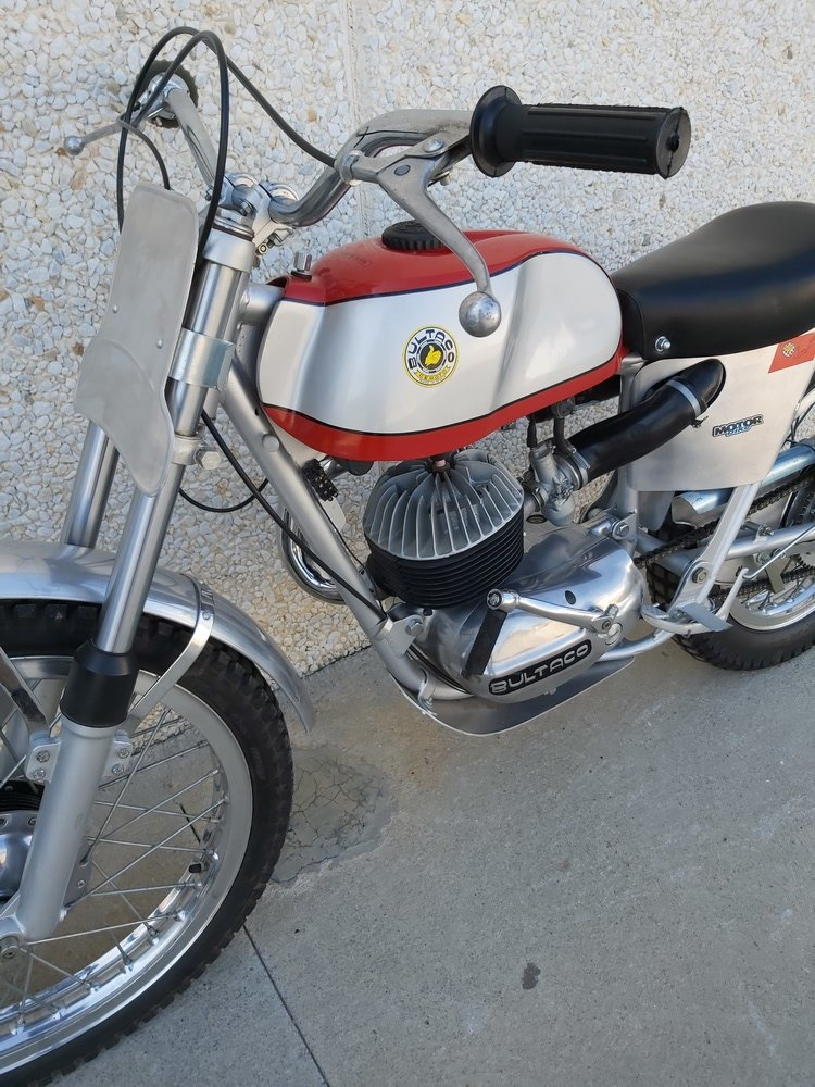 1965 Bultaco Sherpa Sammy Miller For Sale (picture 3 of 3)