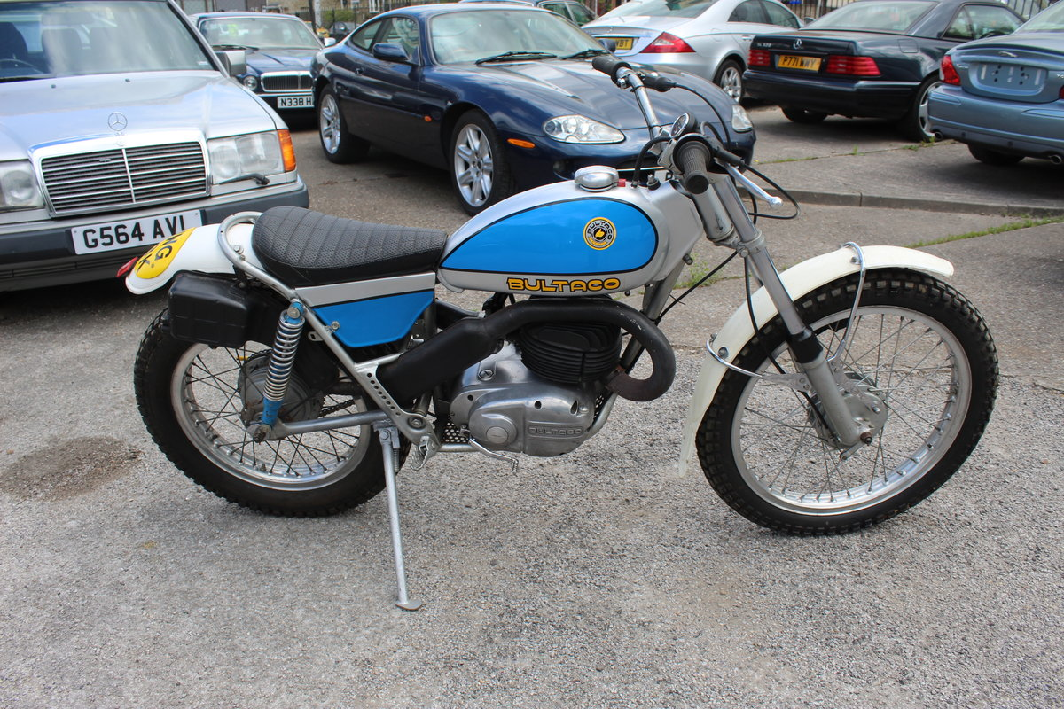 1972 Bultaco Sherpa T 250 cc Very good condition  For Sale (picture 1 of 6)