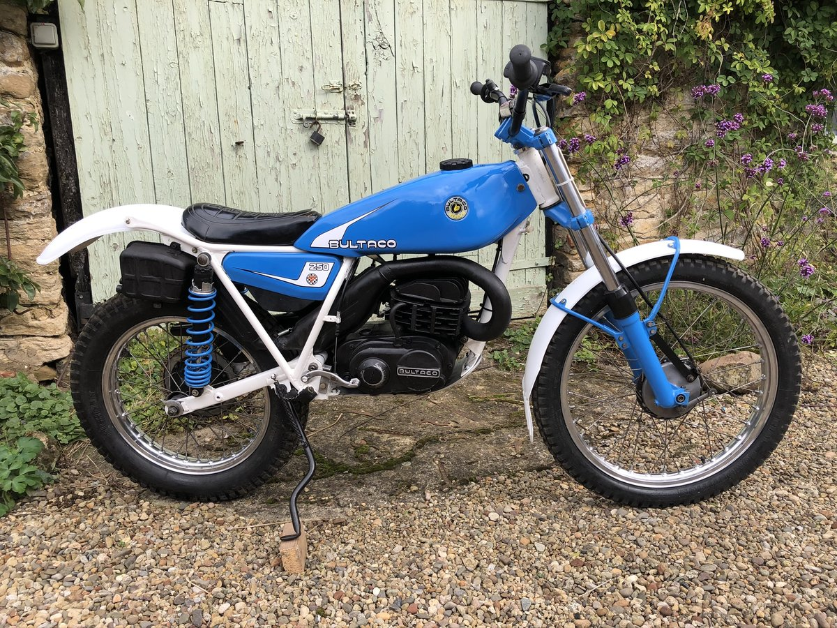1981 Bultaco Sherpa 250 198B V5 For Sale (picture 2 of 6)