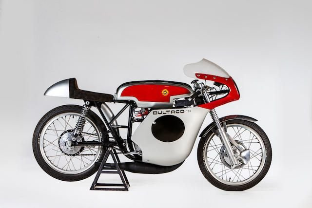 C.1969 BULTACO 125CC TSS GRAND PRIX RACING MOTORCYCLE SOLD by Auction (picture 1 of 1)