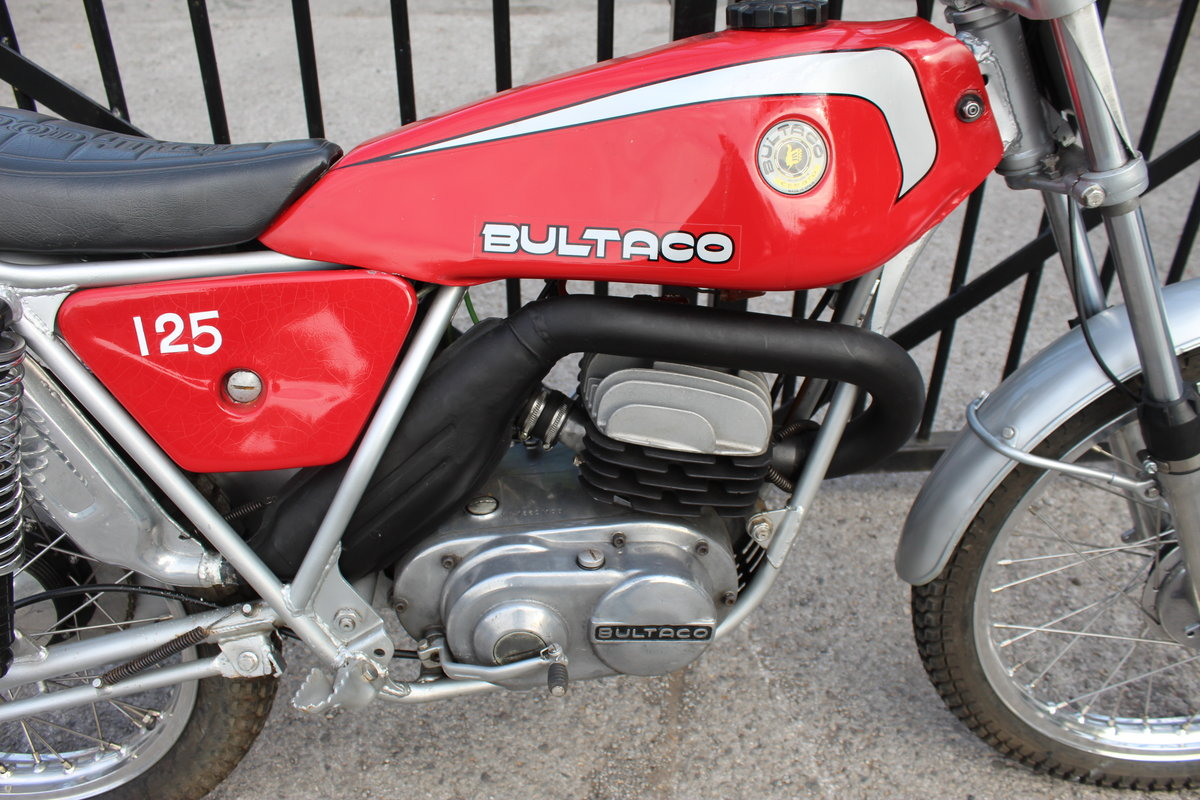 1978 Bultaco Sherpa T125 cc Trials Bike  SOLD (picture 2 of 6)