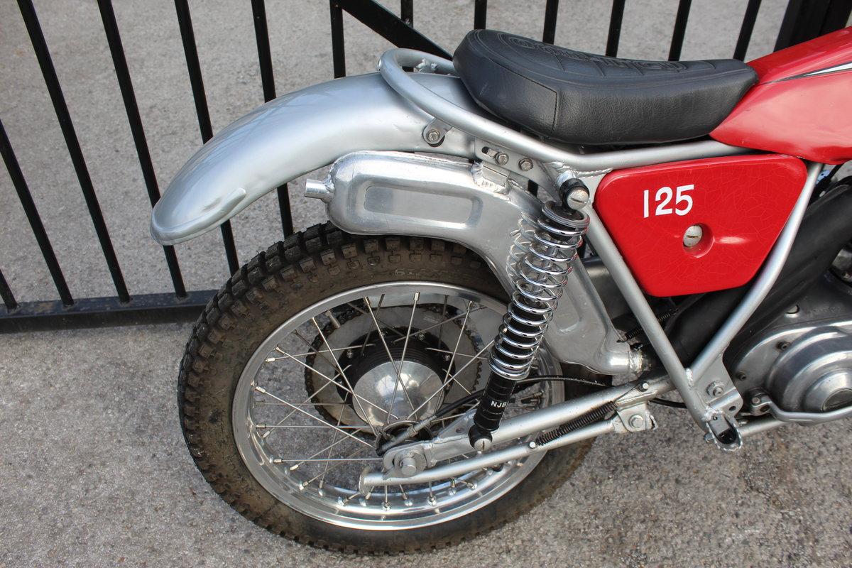 1978 Bultaco Sherpa T125 cc Trials Bike  SOLD (picture 3 of 6)