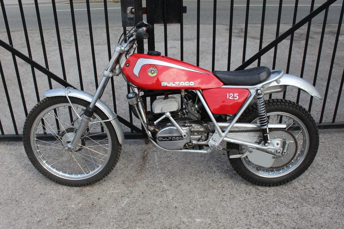 1978 Bultaco Sherpa T125 cc Trials Bike  SOLD (picture 4 of 6)
