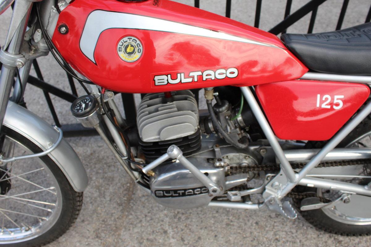 1978 Bultaco Sherpa T125 cc Trials Bike  SOLD (picture 5 of 6)