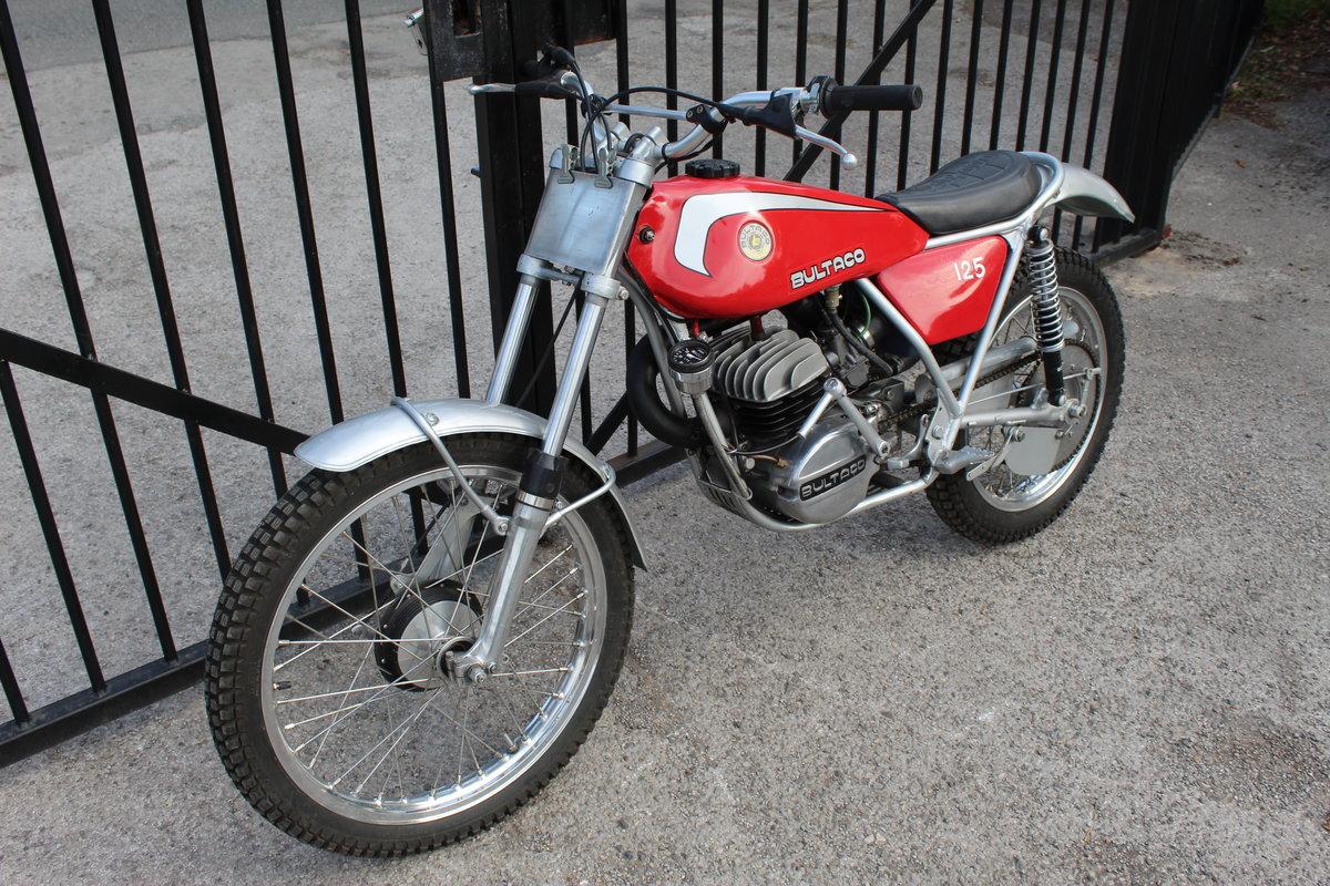1978 Bultaco Sherpa T125 cc Trials Bike  SOLD (picture 6 of 6)