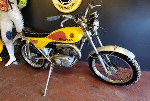 Mk 6 Bultaco Lobito 175cc motorcycle.Original