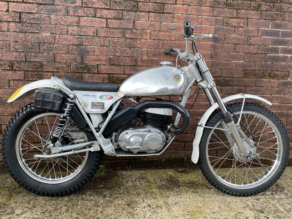 1975 BULTACO SHERPA 250 TWIN SHOCK TRIALS ACE BIKE ROAD REGD V5  For Sale (picture 2 of 6)
