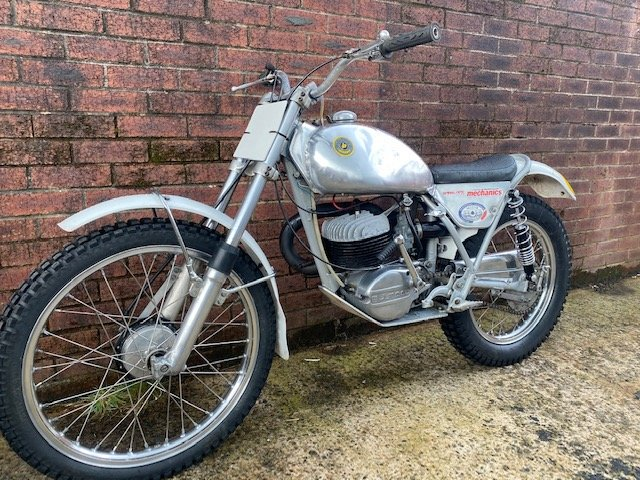 1975 BULTACO SHERPA 250 TWIN SHOCK TRIALS ACE BIKE ROAD REGD V5  For Sale (picture 4 of 6)