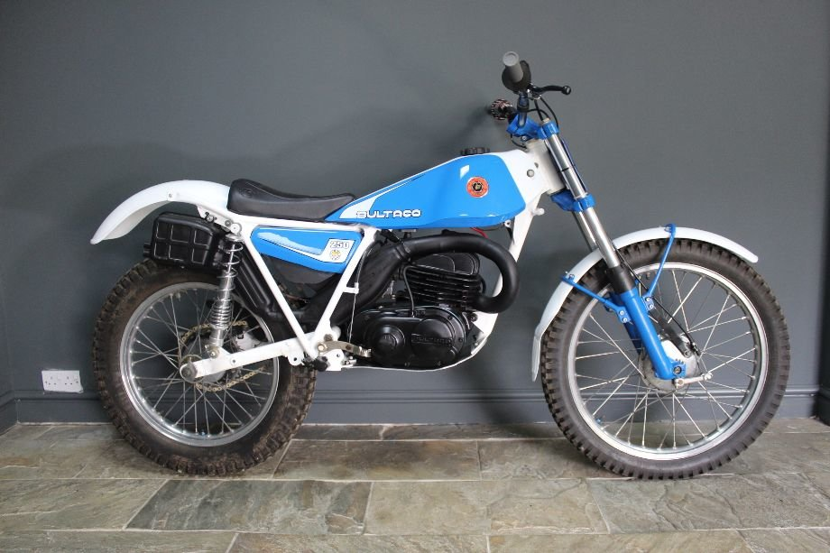 1982 Bultaco 198b 250 cc Standard Example and beautiful For Sale (picture 1 of 6)