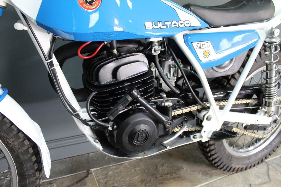 1982 Bultaco 198b 250 cc Standard Example and beautiful For Sale (picture 4 of 6)