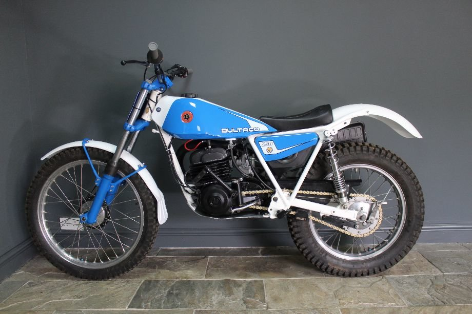 1982 Bultaco 198b 250 cc Standard Example and beautiful For Sale (picture 6 of 6)