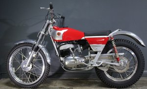 1968 Bultaco Model 49 250 cc Two Stroke Trials Bike