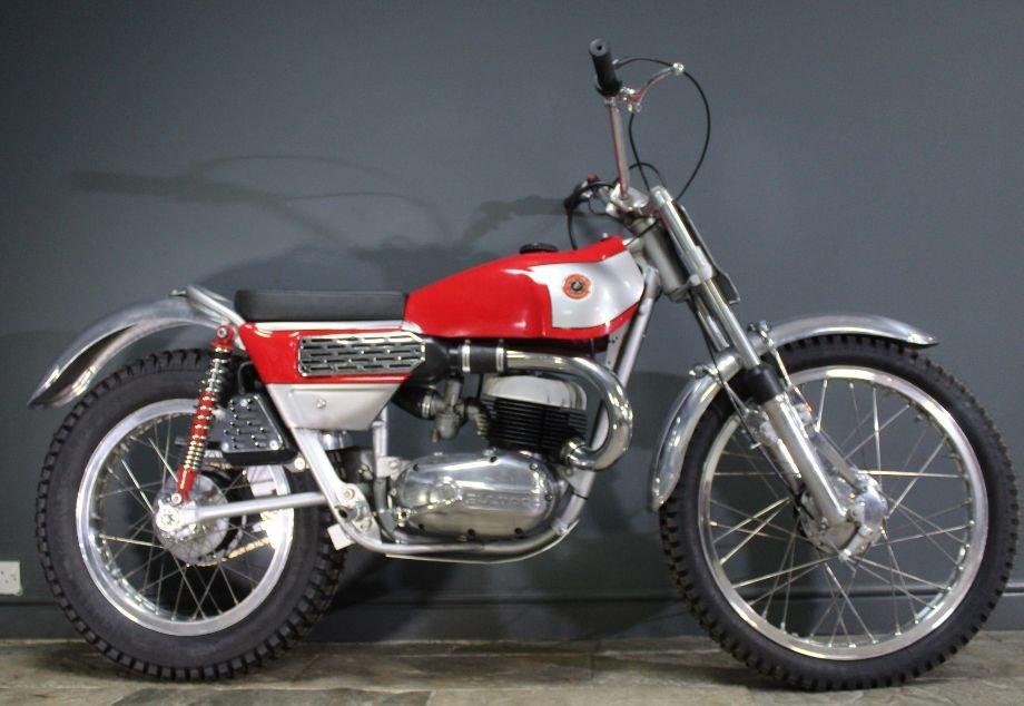 1968 Bultaco Model 49 250 cc Two Stroke Trials Bike For Sale (picture 4 of 6)