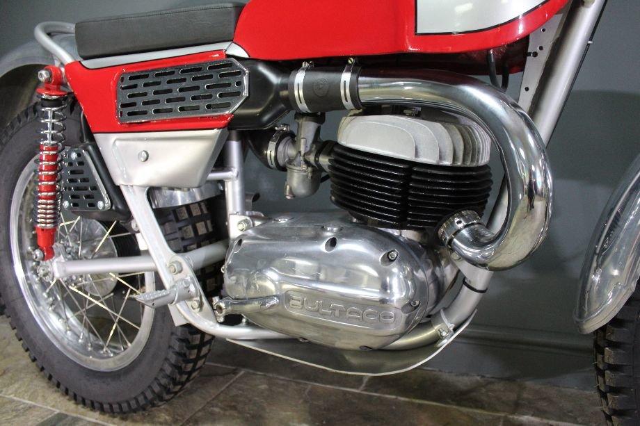 1968 Bultaco Model 49 250 cc Two Stroke Trials Bike For Sale (picture 5 of 6)