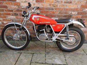 Mint matching numbers Bultaco trials