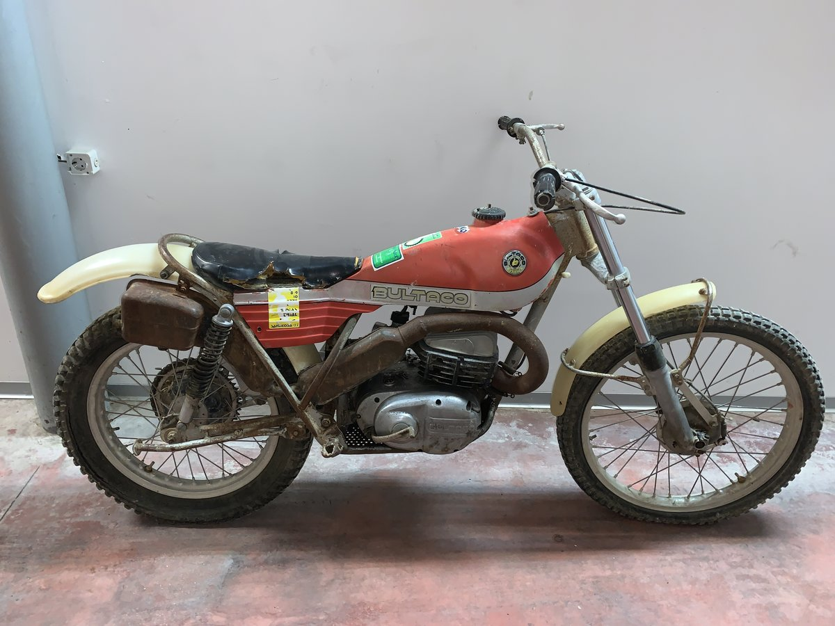1974 Bultaco Sherpa model 125 very completed For Sale (picture 1 of 1)