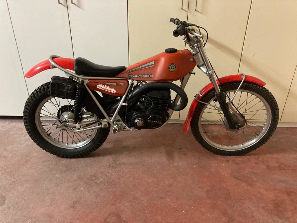 1980 Bultaco Sherpa 350cc original condition SOLD (picture 1 of 2)