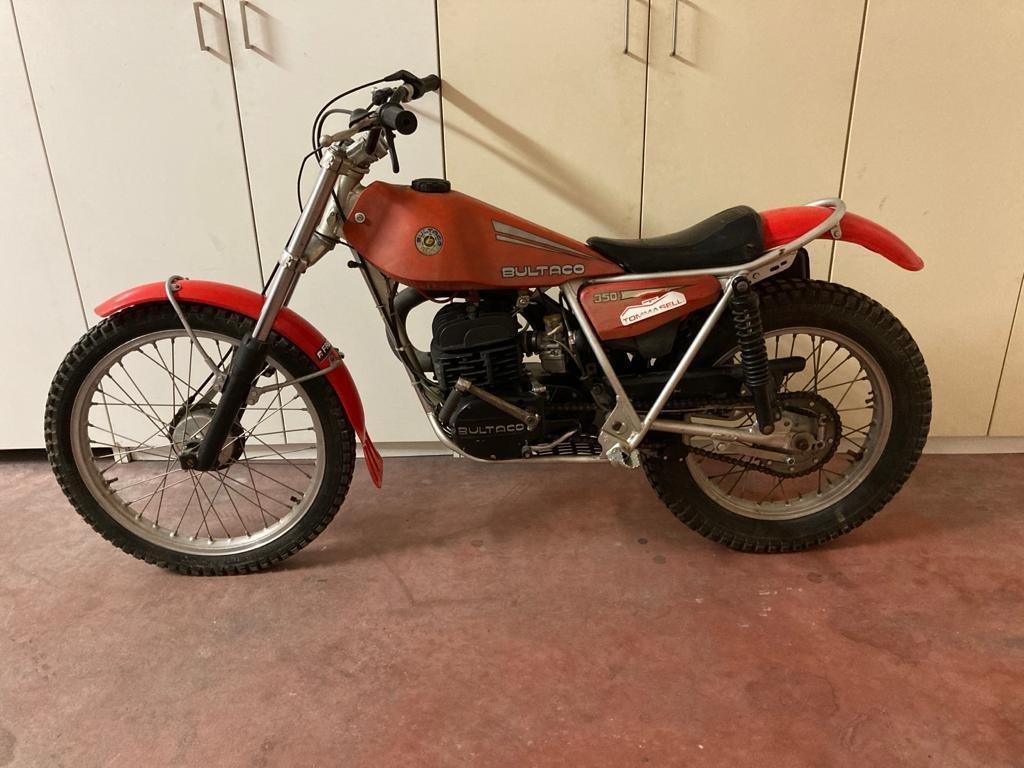 1980 Bultaco Sherpa 350cc original condition SOLD (picture 2 of 2)
