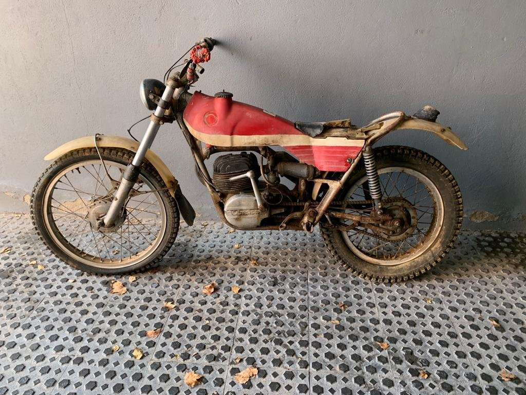 1971 Bultaco Sherpa Model 80 For Sale (picture 2 of 2)