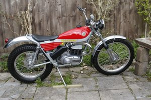 Picture of 1973 Bultaco 326cc Sherpa T M92 Trials Motorcycle Lot 775 For Sale by Auction