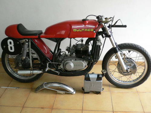 1969 Bultaco Tss 125 model 40 For Sale (picture 1 of 3)