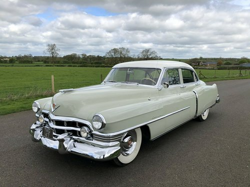 1950 Cadillac Type 62 5400cc V8 SOLD (picture 1 of 6)