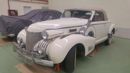 1940 CADILLAC SERIES 60 CONVERTIBLE COUPE For Sale (picture 3 of 6)