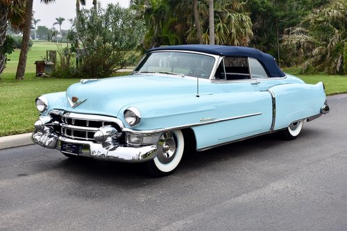 1953 CADILLAC SERIES 62 CONVERTIBLE RESTORED  For Sale (picture 1 of 6)