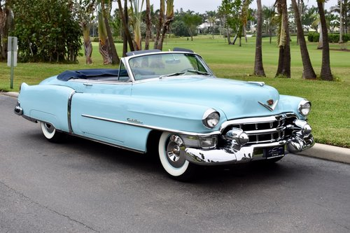 1953 CADILLAC SERIES 62 CONVERTIBLE RESTORED  For Sale (picture 2 of 6)